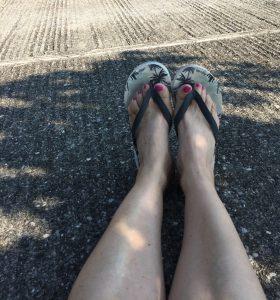 foot up